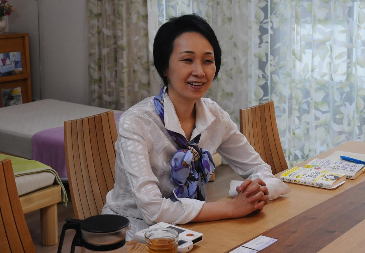 三橋美穂先生 インタビュー