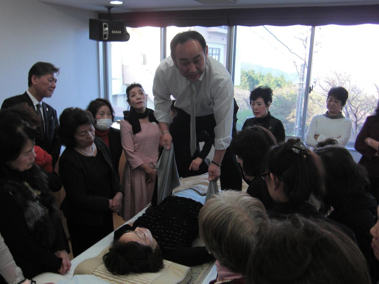 光田年寿先生の「健康相談会」開催