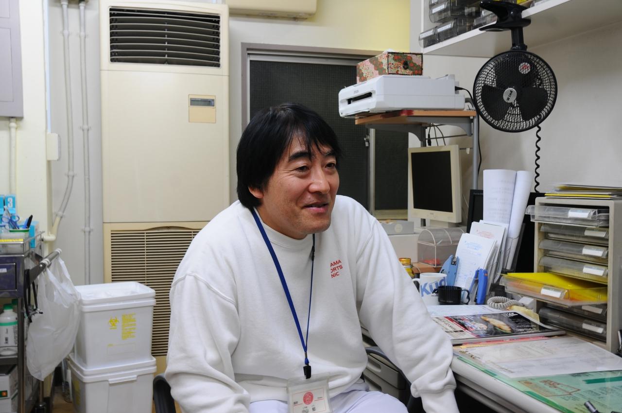 小山郁先生(小山クリニック院長)  インタビュー